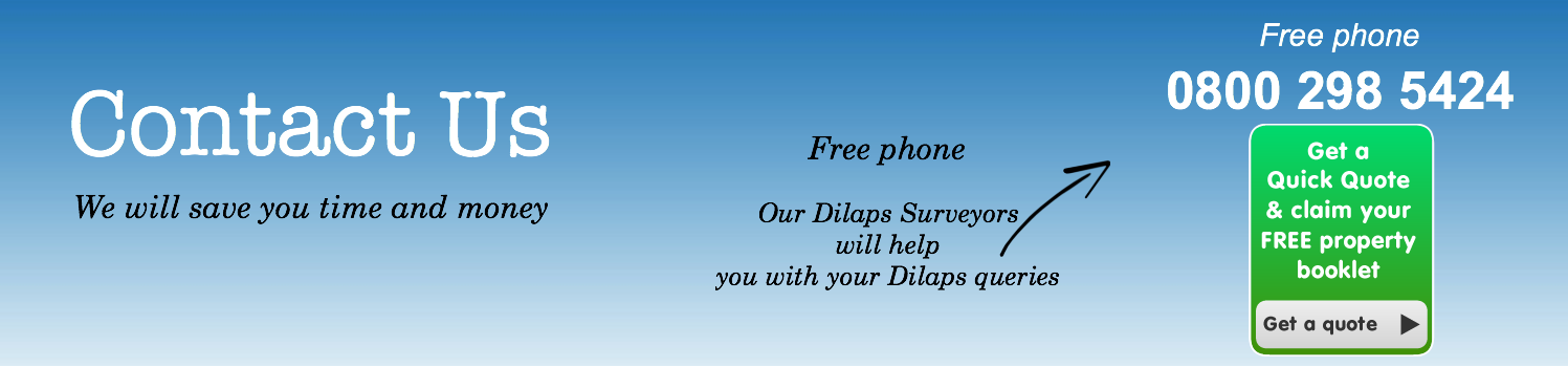 Contact us for dilaps help