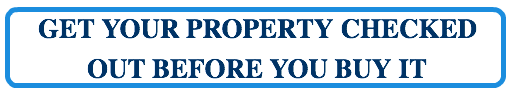 Get your property checked out