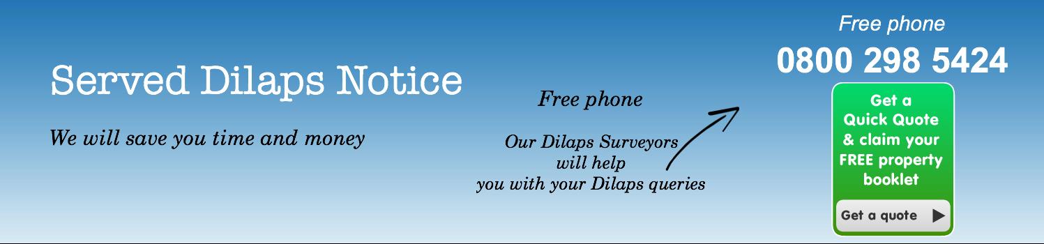 Served dilaps notice
