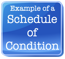 example of a schedule of condition square